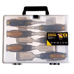 Stanley 16-971 FatMax 6 Piece Wood Chisel Set